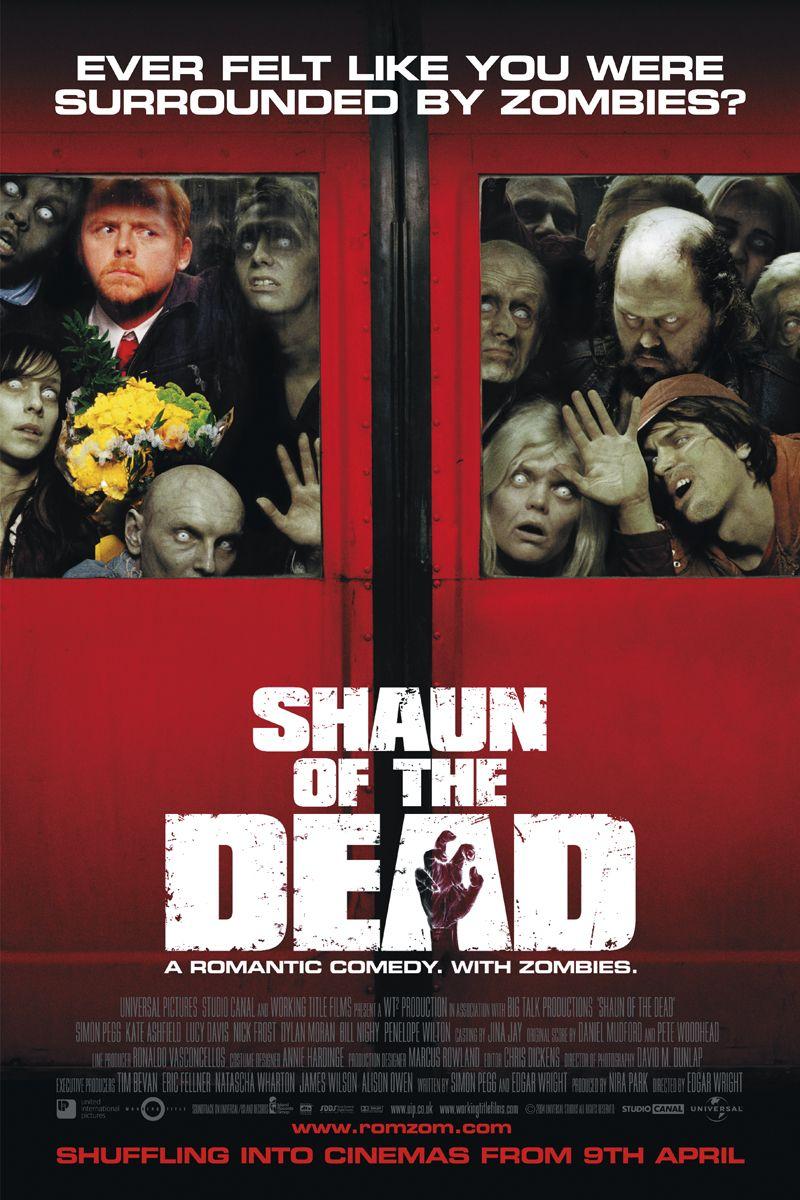 Шон из мертвецов - постер