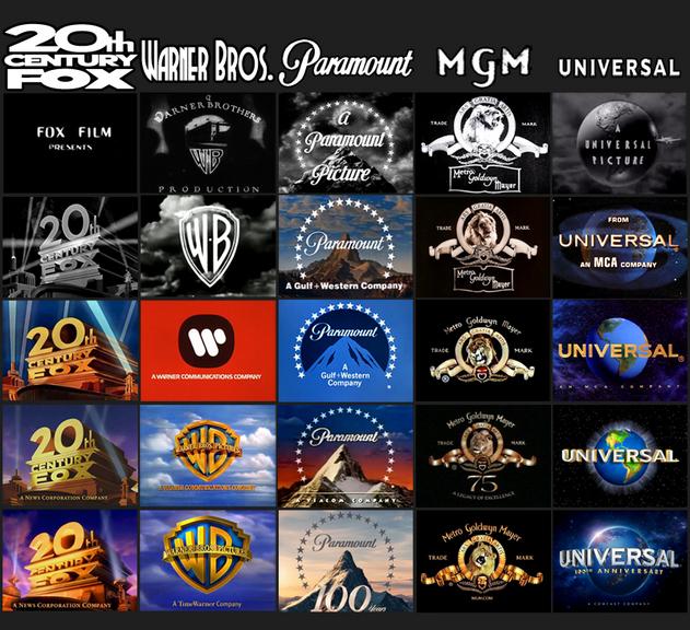 Логотипы кинокомпаний